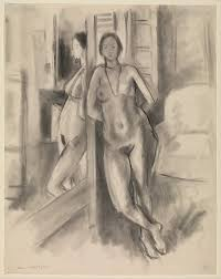looking in mirror different reflection drawing. reflection in the mirror, henri matisse (french, le cateau-cambrésis 1869\u2013 looking mirror different drawing w