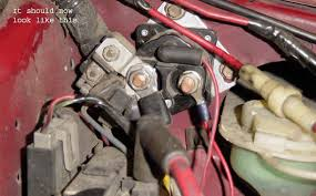 which wires go on the right or left side of the starter solenoid which wires go on the right or left side of the starter solenoid ford mustang forums corral net mustang forum