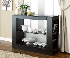 ingenious idea dining room consoles buffets furniture of america enitial lab somerset multi storage buffet console table black amazon ca home kitchen