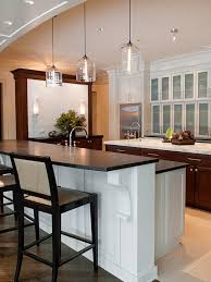 contemporary mini pendant lighting kitchen. Bell Jar Modern Pendant Lights Seen In Naperville Residence For Brilliant Household Lighting Kitchen Contemporary Mini