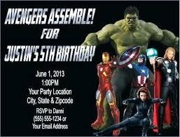Personalized Superhero Birthday Invitations Avengers Birthday Invitations Assemble Superhero Party Photo