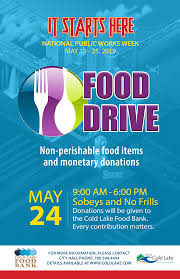 Food Drive Posters Food Drive Npww City Of Cold Lake
