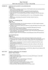 Lms Administrator Sample Resume LMS Administrator Resume Samples Velvet Jobs 1