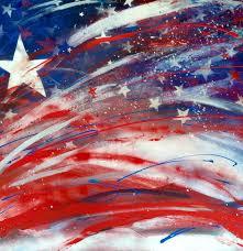 saatchi art artist mg stout painting deconstructed american flag art