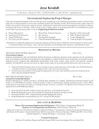 Sample Resume For Environmental Services Resume Of Environmental Engineer Savebtsaco 1