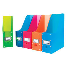 Colorful Magazine Holders Magazine Holders colorcode your magazines and more Calloway House 2