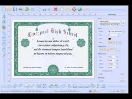 how to create and print high school diploma  how to create and print high school diploma