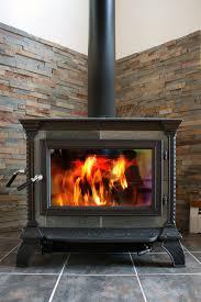 on wood stove glass