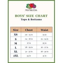 Roblox Color3 Chart Fruit Of The Loom Boys 4 18 Soft Short Sleeve Crewneck T Shirts Multi Color 3 Pack