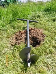 garden auger. 180 Mm Drill Planting Garden Hand Auger Post Hole Digger T