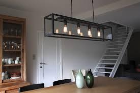 Eettafel Moderne Verlichting Boven Mooie Lumen Ikea Hout Led