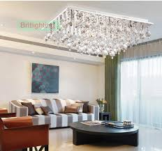 bed room lights crystal flush mount ceiling lights crystal ceiling light led modern ceiling lamp living room rectangle living room lights crystal ceiling
