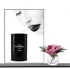 coco chanel poster print wall art