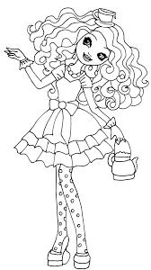 Madeline Hatter Desenhos Para Colorir Ever