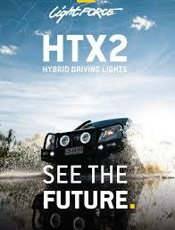 Hybrid Driving Lights Lightforce Htx2 Hybrid Driving Lights See The Future