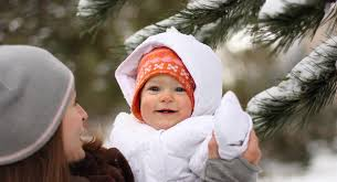 how to keep your baby warm all winter