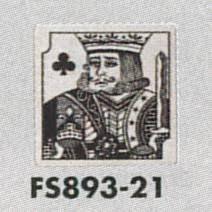 表示プレートh トイレ表示 ステンレス イラストトランプ 80mm角 表示男性用 Fs893 21
