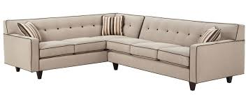 Mid Century Modern Sectional Couch Quick View Hughes Reversible