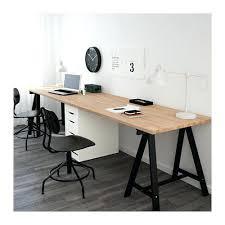 ikea wood desk table beech black white beech black white 1 1 2 ikea wood countertop