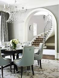 i even ask myself this question for my image discovered here via traditional home we curly do not have a dining room rug