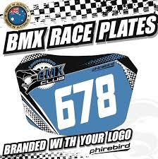 Design Your Own Bmx Plate Bmx Racing Plates Bmx Racing Phirebird