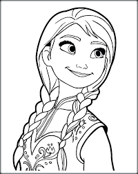 Frozen Coloring Pages Elsa And Anna Coloring Pages And Queen And