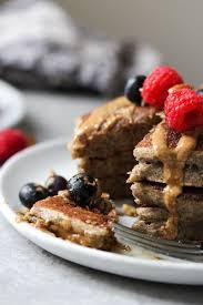 the fluffiest buckwheat banana pancakes dishingouthealth