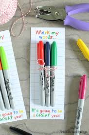 this let s stick together sticky note gift is not only a great idea for teachers but also for friends teammates