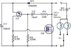 simple flasher wiring diagram not lossing wiring diagram • simple motor bike indicater flasher unit in a tic tak box rh instructables com 3 wire flasher wiring diagram buss flasher 550 wire diagram