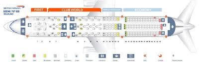 British Airways Fleet Boeing 787 9 Dreamliner Details And