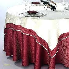 decorative round tablecloths satin table