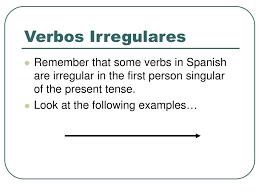 Ppt Irregular Verbs Powerpoint Presentation Free Download
