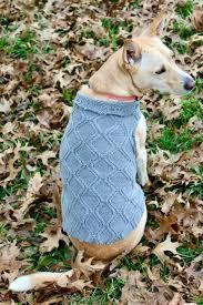 diy no sew dog sweater