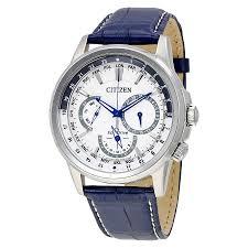 citizen calendrier eco drive white dial men s watch bu2020 02a