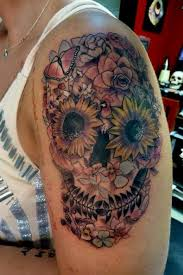 deadly skull tattoo designs for men  badass deadly skull tattoo designs for men 2015