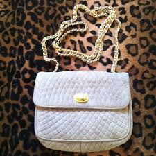 Bally of Switzerland - BALLY vintage quilted suede chain-strap ... & BALLY vintage quilted suede chain-strap purse Adamdwight.com