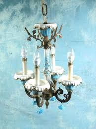 antique porcelain chandeliers