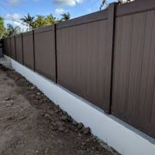 vinyl fencing. Interesting Fencing Photo Of Cu0026S Vinyl Fencing  Montebello CA United States Wood Brown Vinyl To
