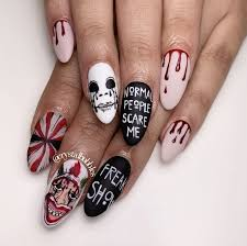 Halloween Gel Nail Designs 2018 Spooky But Chic Nail Designs To See You Through Halloween