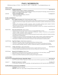 13 College Application Resume Examples Graphic Resume