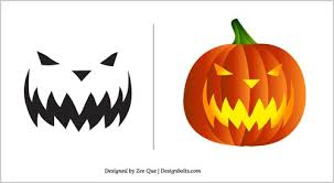 Free Pumpkin Carving Patterns Delectable Halloween Free Scary Pumpkin Carving Patterns 48 48 Scary