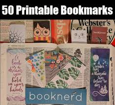 Bookmark Designs To Print 50 Free Printable Bookmarks For Adults And Kids Bookish