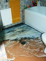 interior design ideas 3d ocean polimer floors