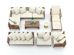 outdoor furniture west elm. West Elm Outdoor Furniture Set Model Max Obj