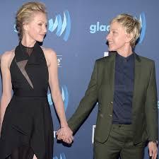 Ellen And Portia Ellen Degeneres And Portia De Rossi Have The Look Of Love Down