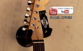custom guitar hanger how to hang an electric guitar on the wall guitar wall mount