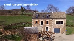 Maison Castelnau De Mandailles Nord Aveyron Immobilier Youtube