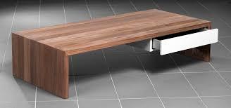 Design Salontafel Notenhout