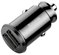 <b>автомобильное зарядное устройство Baseus</b> Grain black по ...