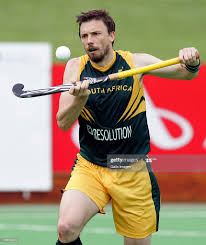 Ken Forbes of South Africa during the Five Nations Mens Hockey ...